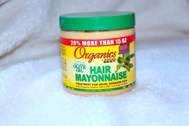 masque à la mayonnaise